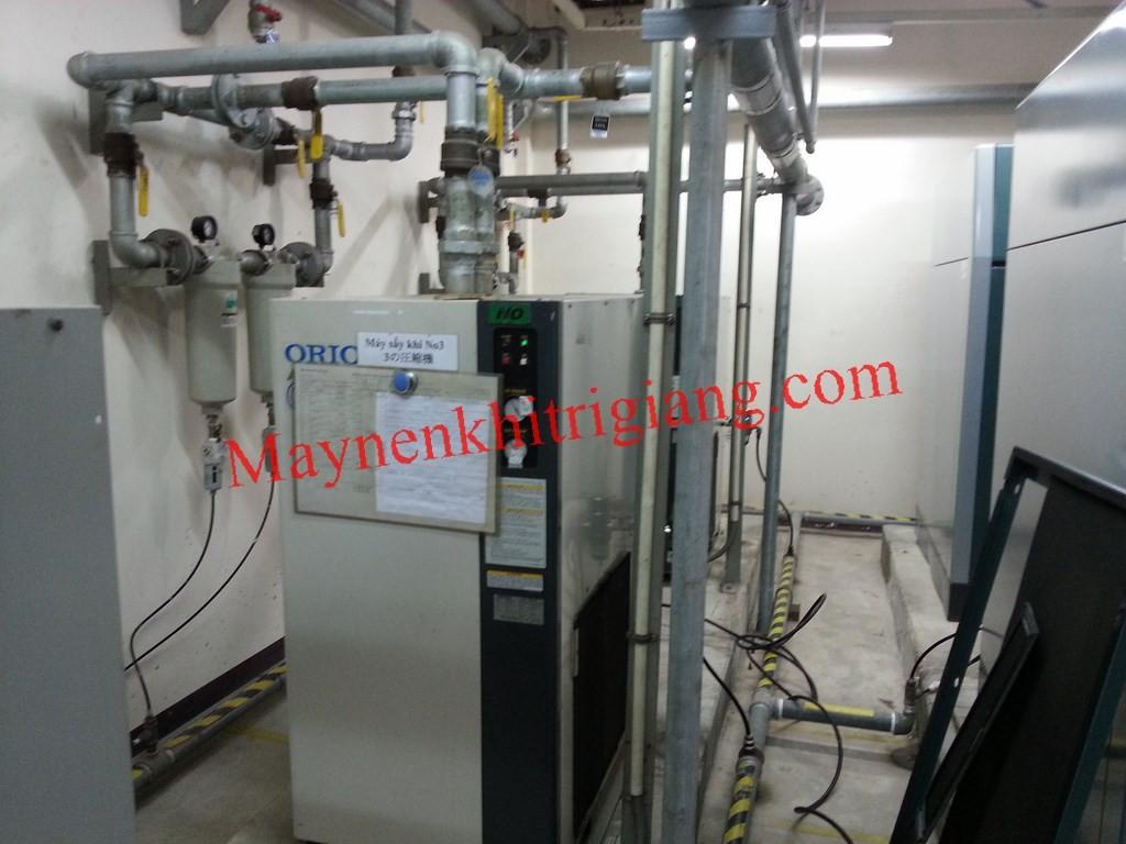 Máy sấy khí và lọc đường ống